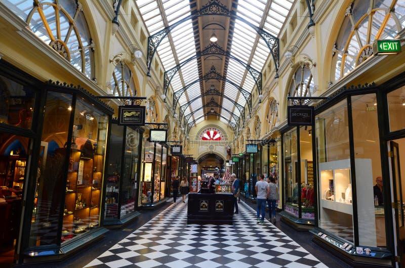 Arcada real - Melbourne fotografía de archivo libre de regalías