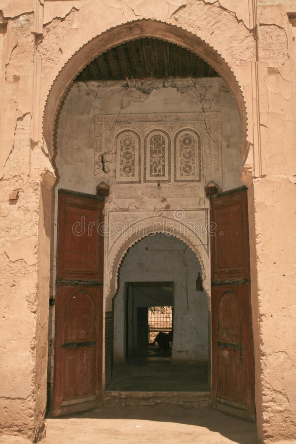 Arcadas islámicas de Rissani imagen de archivo libre de regalías