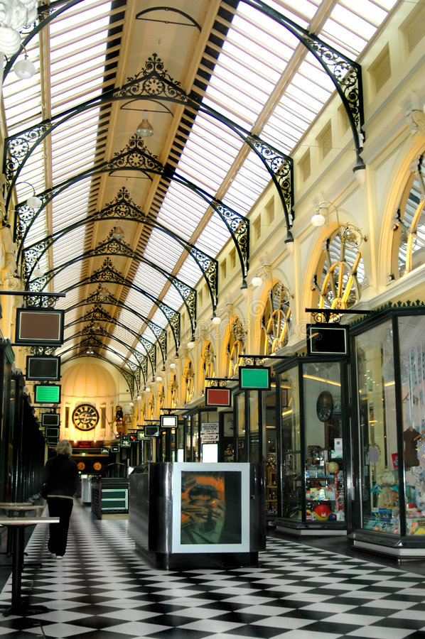 arcade αγορές της Μελβούρνης στοκ εικόνες με δικαίωμα ελεύθερης χρήσης