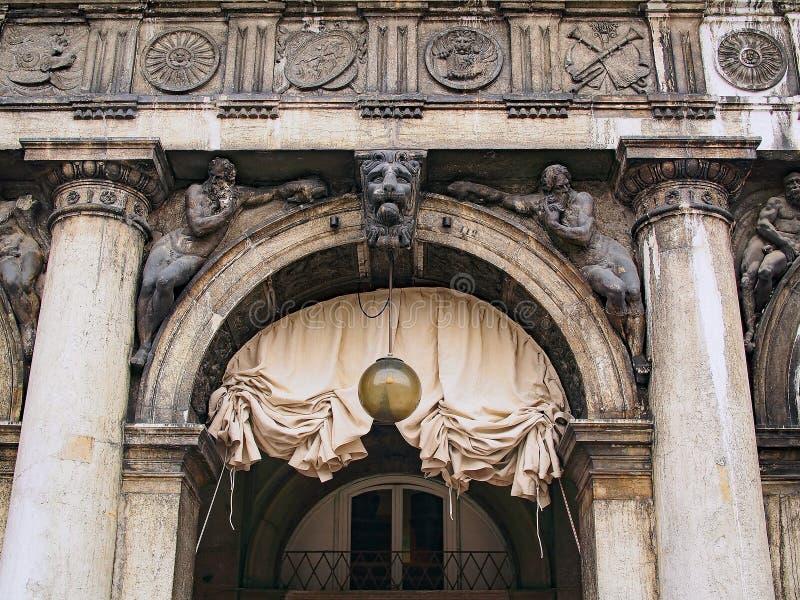Arcade Arch, cuadrado del ` s de St Mark, Venecia, Italia fotos de archivo