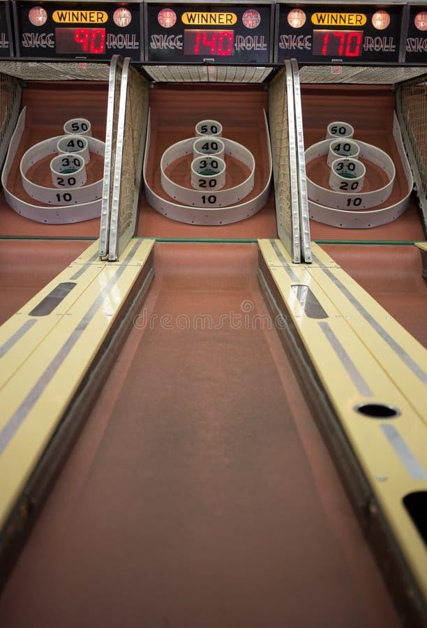 Arcade Carnival Game royaltyfria bilder