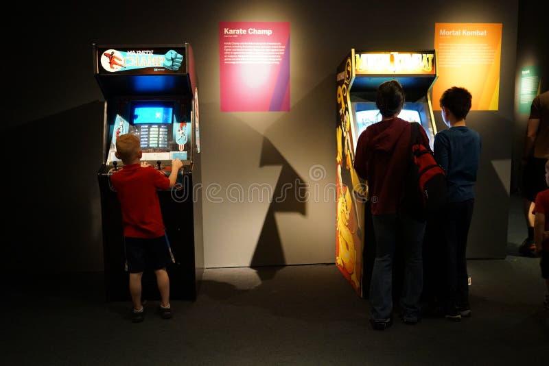 Arcade Classics Exhibition 15 fotografía de archivo