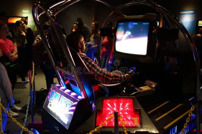 Arcade Classics Exhibition 5 imágenes de archivo libres de regalías