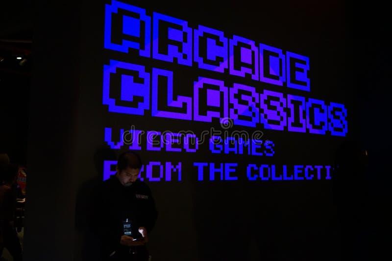Arcade Classics Exhibition 6 foto de archivo