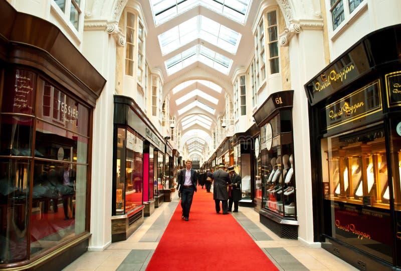 Arcade de Burlington image stock