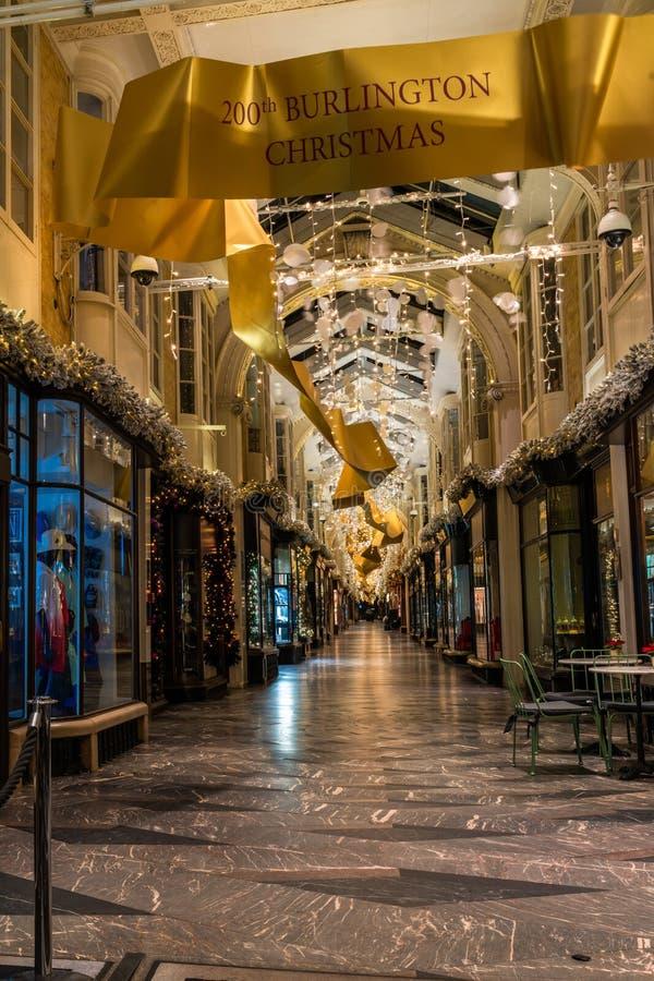 Arcade de Burlington, Londres photographie stock libre de droits