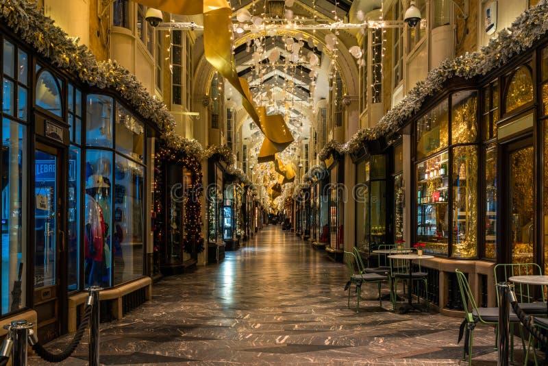 Arcade de Burlington, Londres image stock