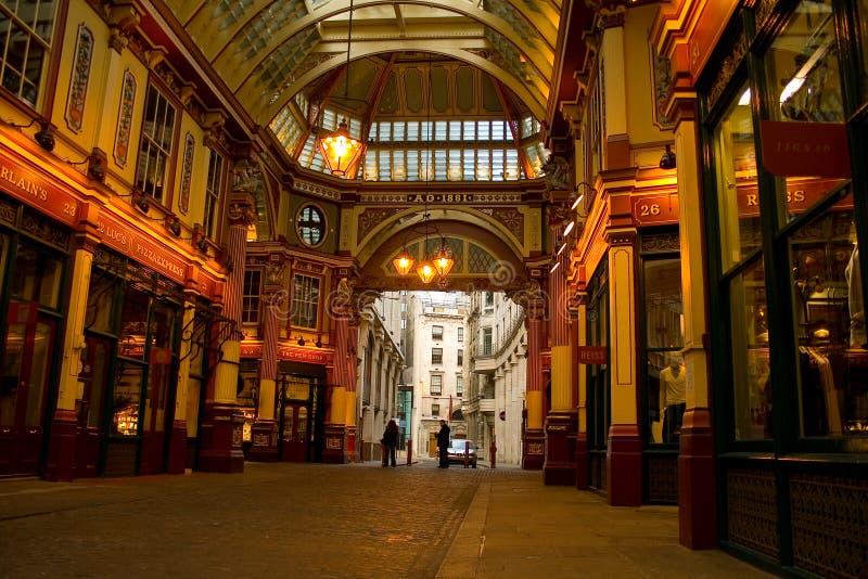 Arcade de jardins de couteliers de Londres photographie stock