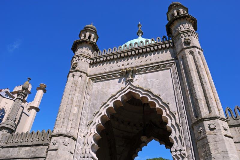 Arcade de pavillon royal, Brighton image stock