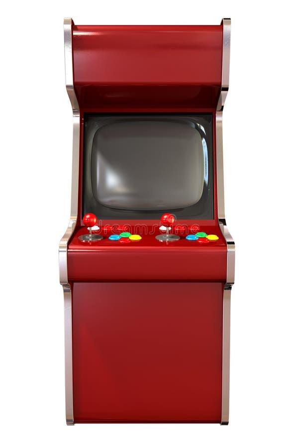 Arcade Game Machine stock illustratie
