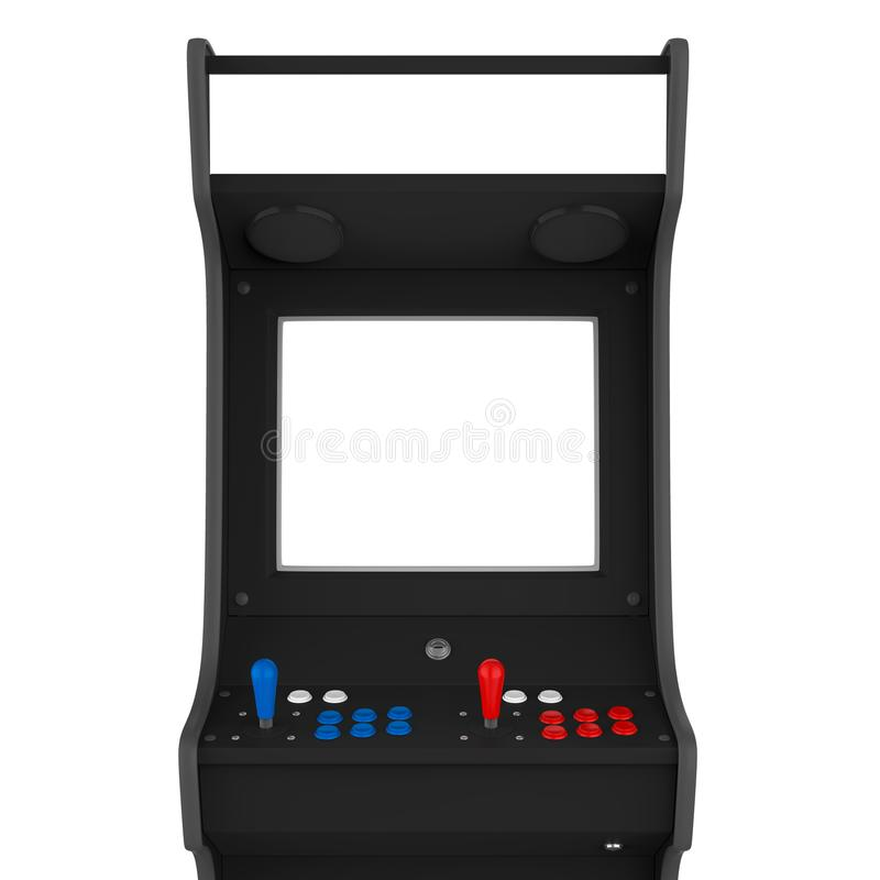 Arcade Game Machine Isolated ilustração do vetor