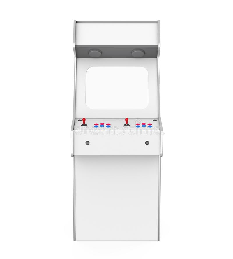 Arcade Game Machine Isolated ilustração stock