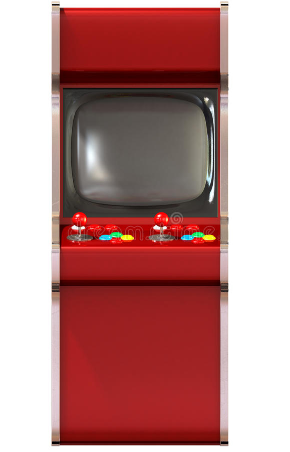Arcade Game Machine Unbranded stock illustrationer