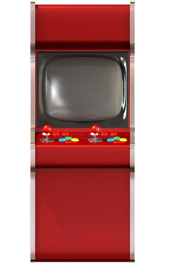 Arcade Game Machine Unbranded stock illustration
