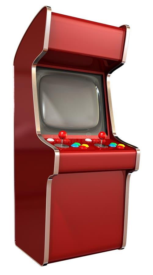 Arcade Game Machine royalty free illustration