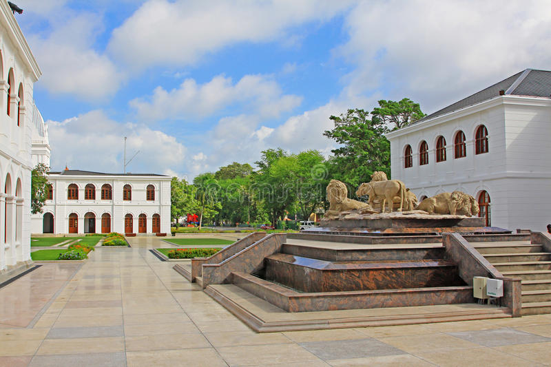 Arcade Independence Square, Colombo Sri Lanka lizenzfreie stockfotografie