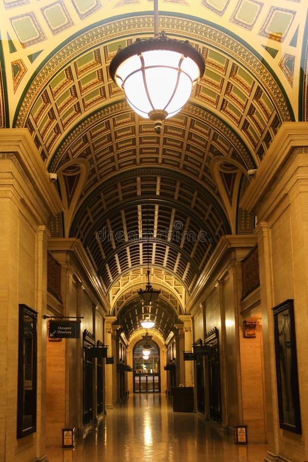 Arcade, India Building. Liverpool. England royalty free stock photo