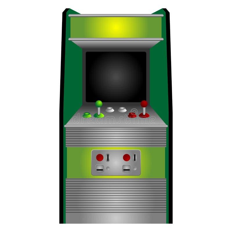 Download Arcade machine stock vector. Image of arcade, screen - 20261173