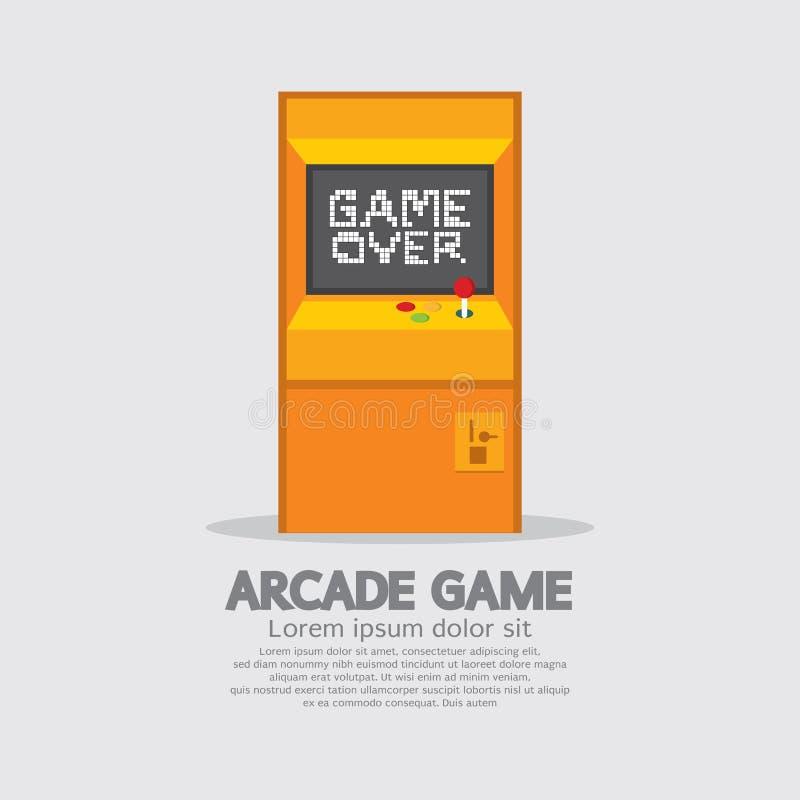 Arcade Machine stock de ilustración