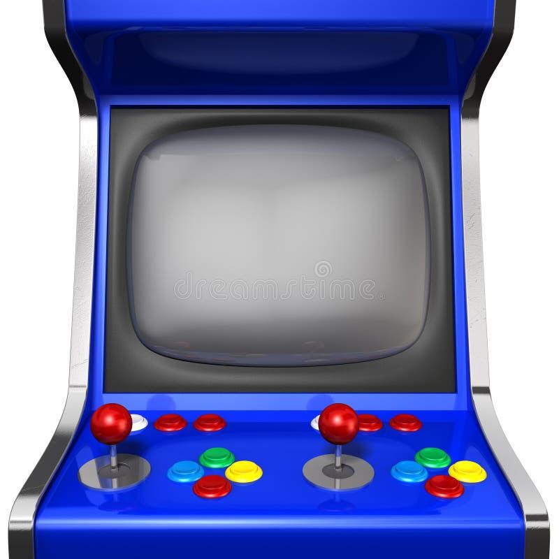 Arcade Machine Closeup ilustração do vetor