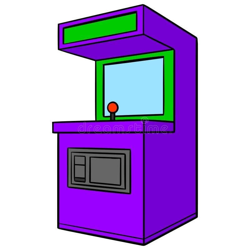 Arcade-machine vector illustratie
