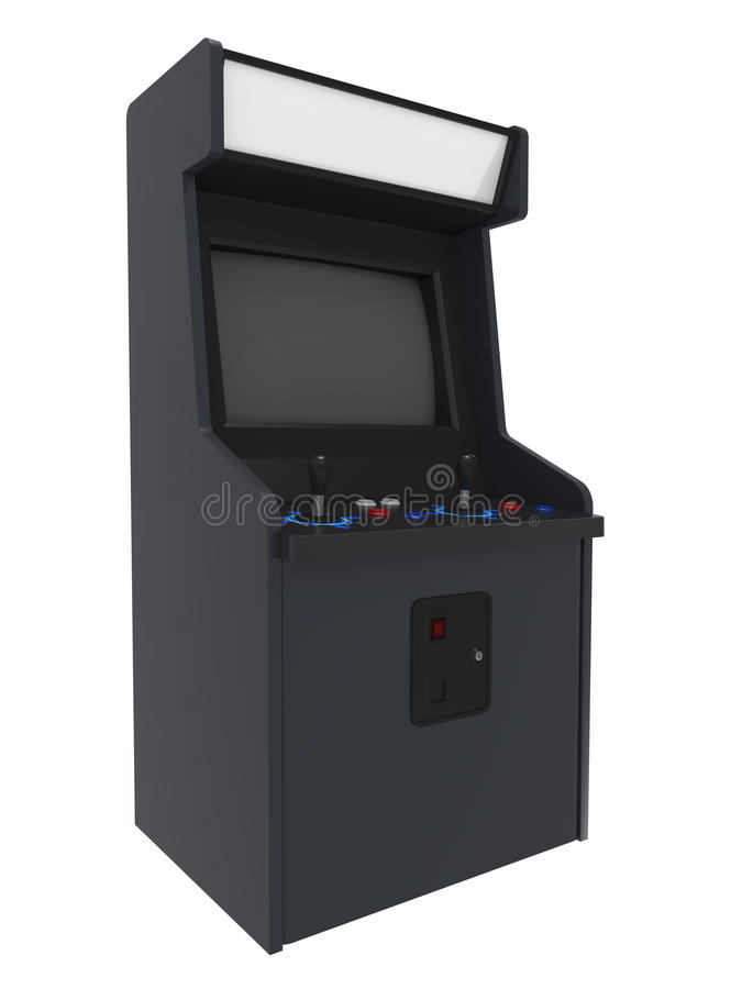 Arcade Machine stock illustration