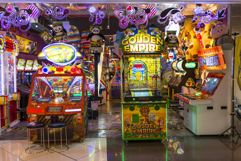 Arcade Machine royalty free stock photography