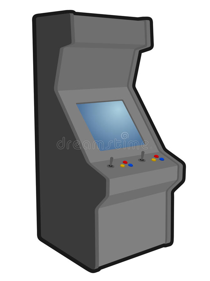Download Arcade play stock vector. Illustration of drawing, icon - 28908769