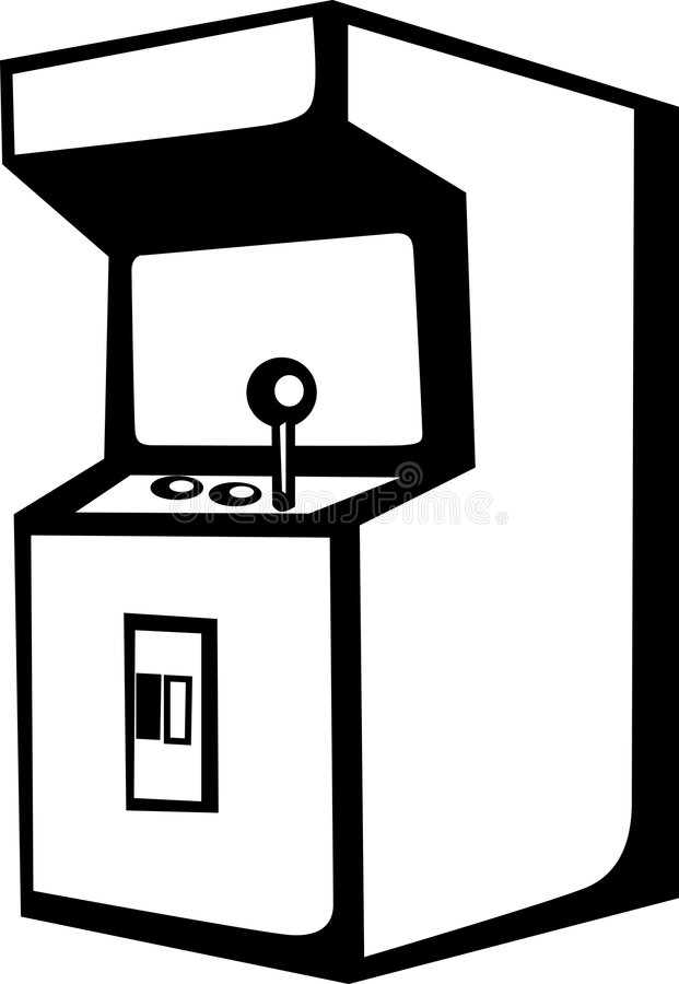 arcade video game machine vector illustration stock vector rh dreamstime com free arcade clipart arcade clipart