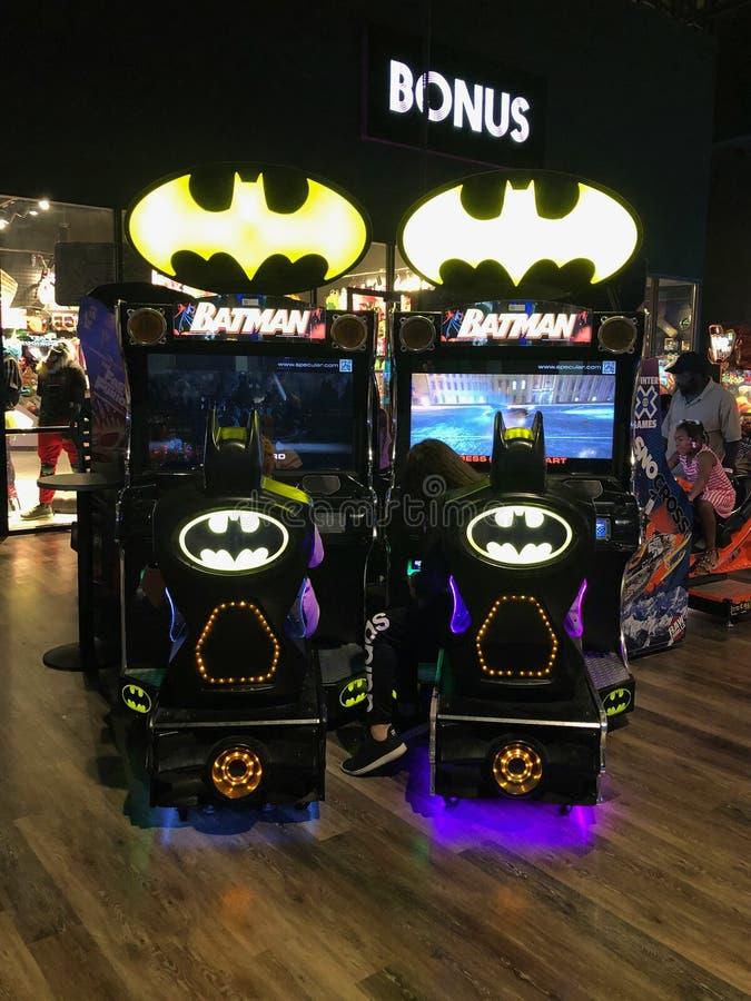 Arcade Video Games lizenzfreie stockfotos