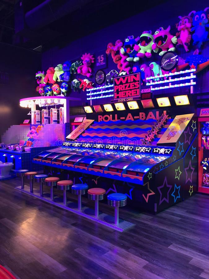 Arcade Video Games stockbild
