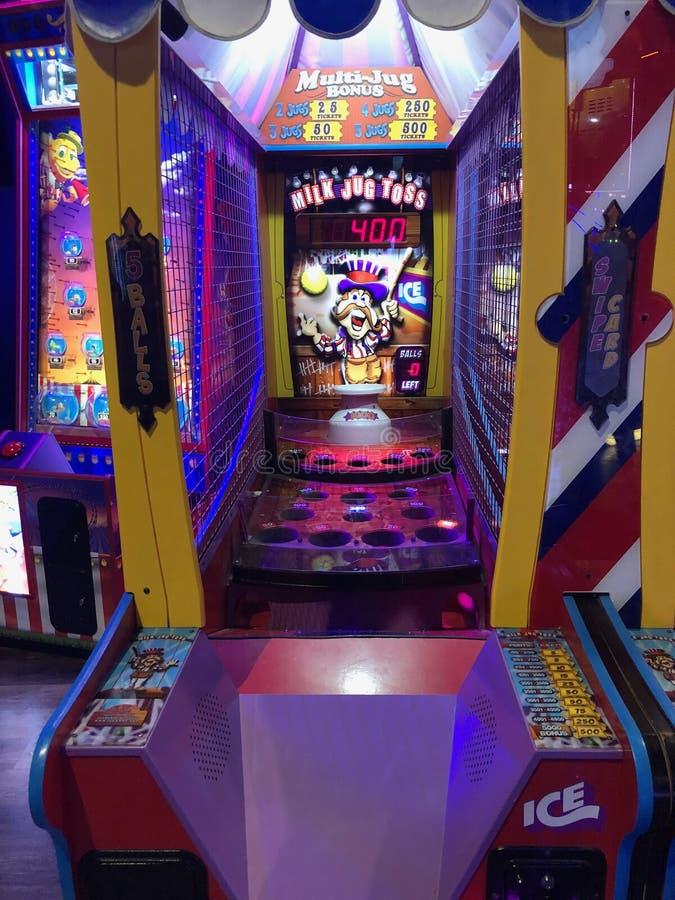 Arcade Video Games stockfoto