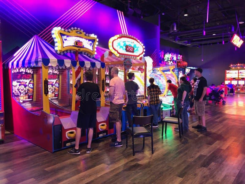 Arcade Video Games lizenzfreie stockfotografie