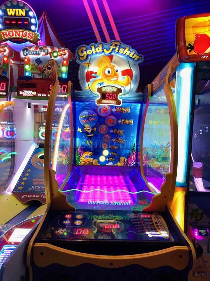 Arcade Video Games stockfotografie