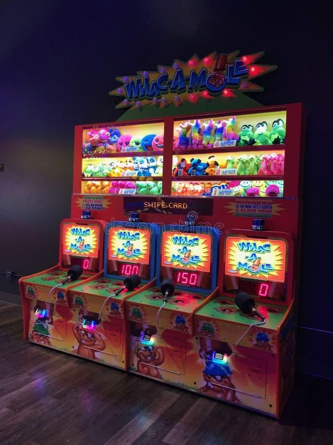 Arcade Video Games lizenzfreies stockbild