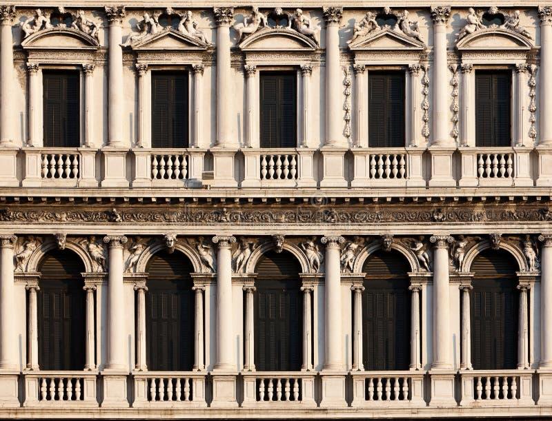 Arcades της πλατείας Di SAN Marco, Venezia στοκ εικόνες
