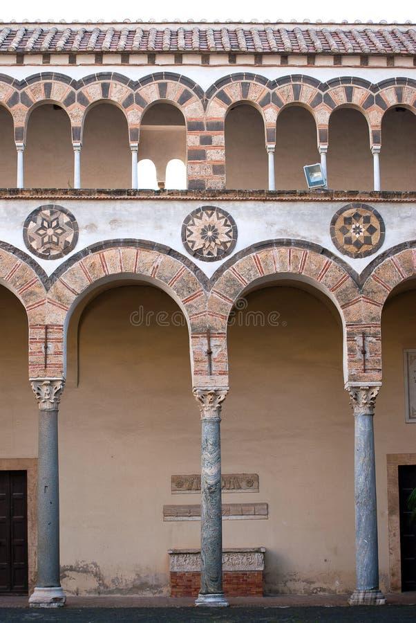 Arcades του καθεδρικού ναού στοκ φωτογραφία με δικαίωμα ελεύθερης χρήσης