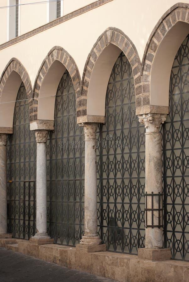 Arcades του καθεδρικού ναού στοκ φωτογραφία