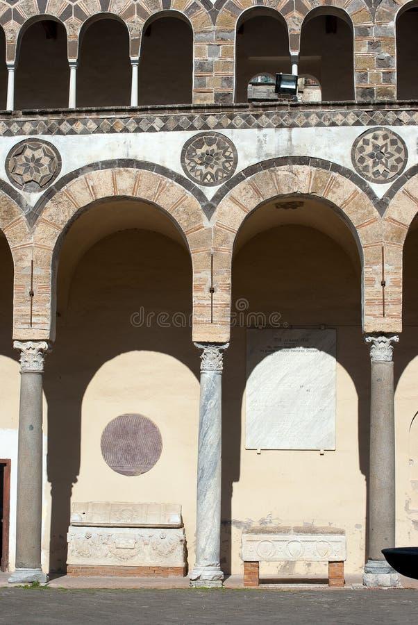 Arcades του καθεδρικού ναού στοκ εικόνα