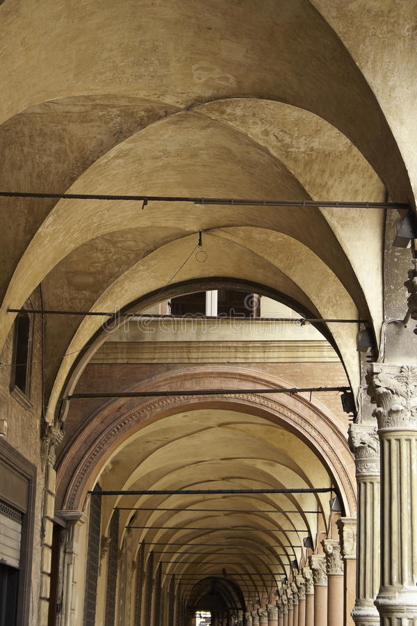 Download Arcades of Bologna stock photo. Image of architecture - 15722554