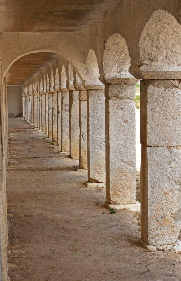Arcades en pierre photos stock