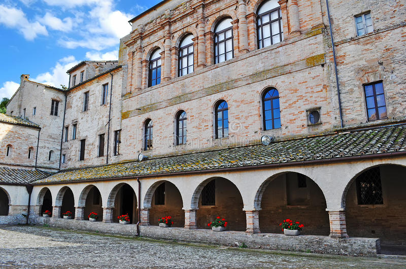 Download Arcades Of An Old Building Stock Photo - Image: 23047180