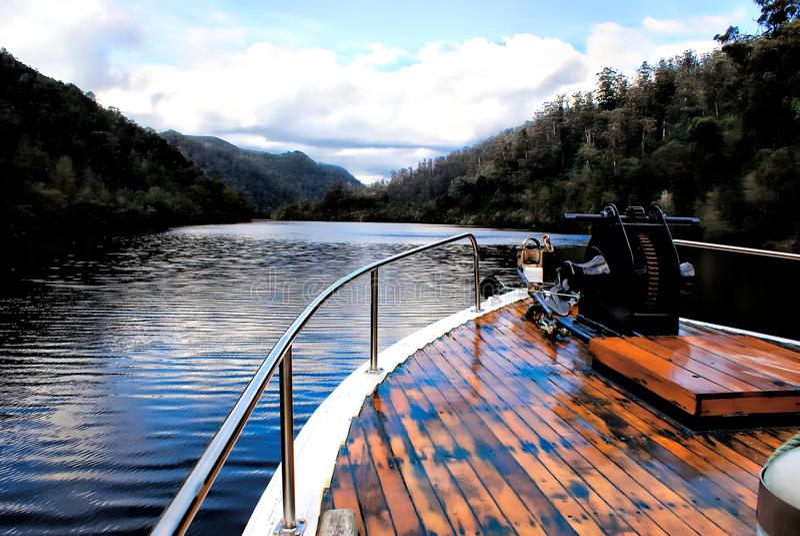 Arcadia łódź obrazy royalty free