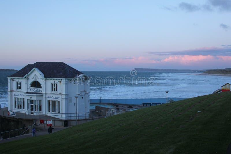 ARCADIE, Portrush, Co Antrim, Irlande du Nord photos stock