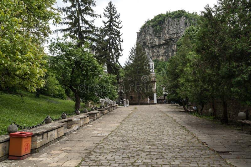 arcangelo del XIX secolo Michael, regione della st del monastero di Dryanovo di Gabrovo fotografia stock libera da diritti