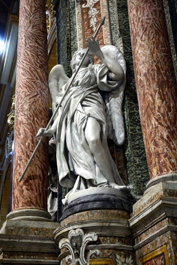 Arcangelo Michael, Mdina fotografia stock libera da diritti