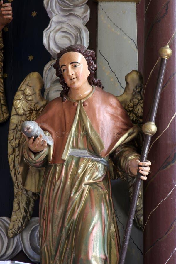 Arcangelo Rafael fotografie stock