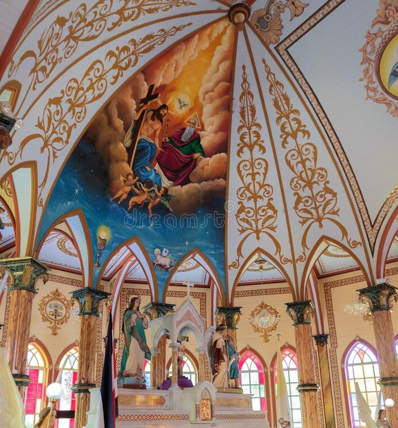 Arcanjo Gabriel Church imagens de stock royalty free