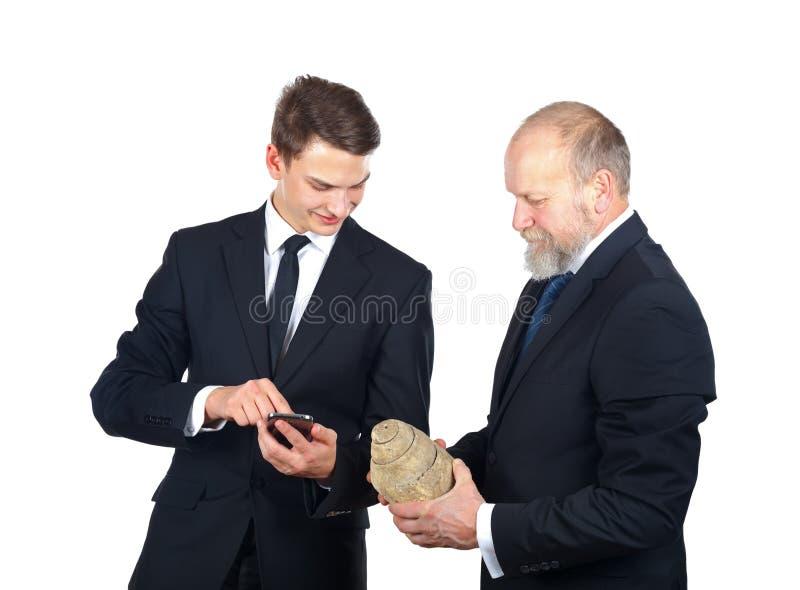 Archäologiepersonal stockfotos