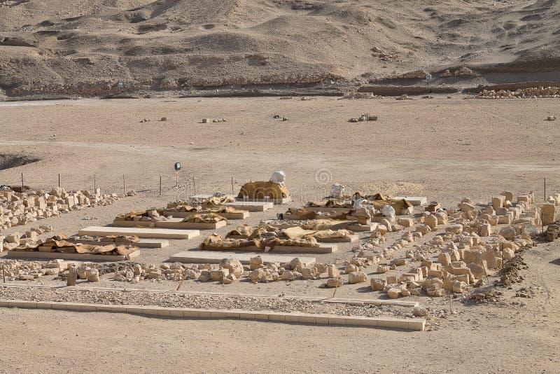 Archäologische Entdeckungen lizenzfreie stockfotos